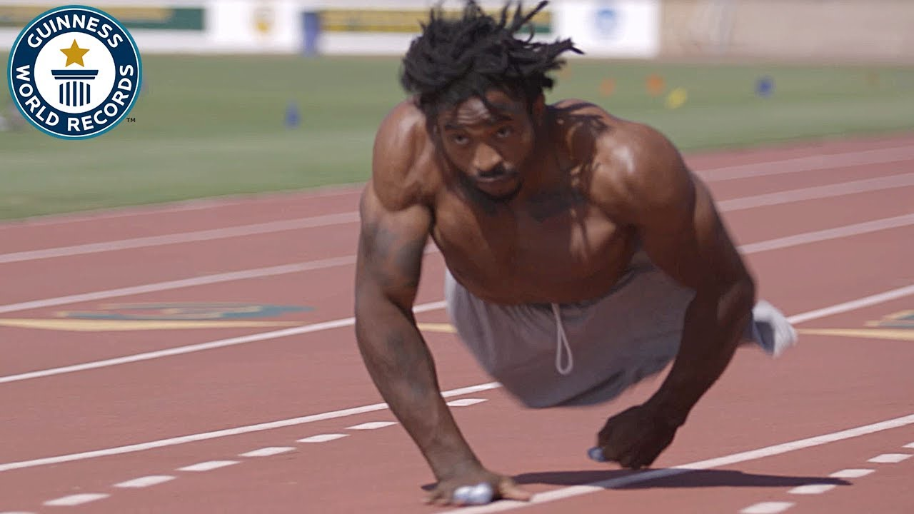 Download The fastest man on two hands - Guinness World Records