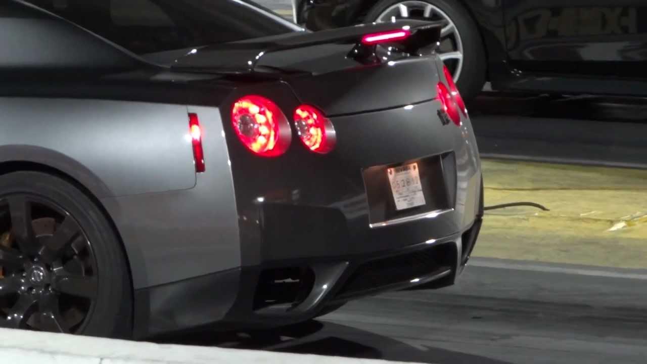 2012 Nissan Skyline GTR 1/4 Mile