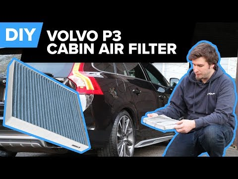 How To Remove And Replace The Cabin Air Filter On A Volvo P3 (XC60, S60, V60, & More)