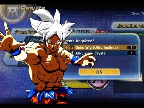 How to Get ULTRA INSTINCT Goku WIG Dragon Ball Xenoverse 2