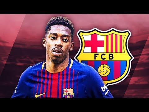 OUSMANE DEMBELE - Welcome to Barcelona - Unreal Skills, Runs, Goals & Assists - 2017 (HD)
