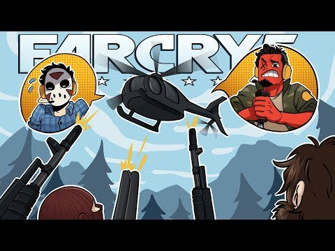 DEAD FROM ABOVE! | Far Cry 5 (Coop w/ H2O Delirious) EP 12