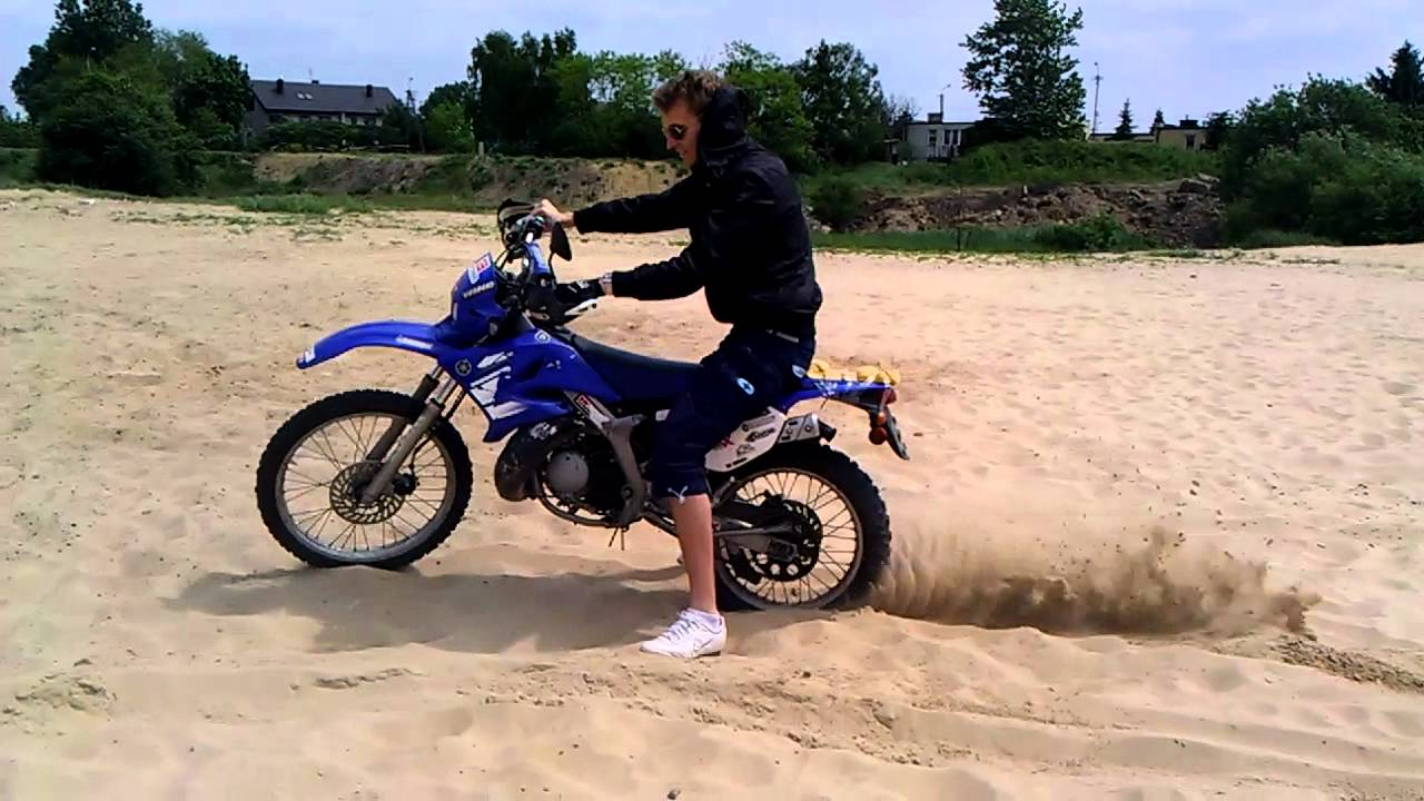 yamaha dt50r dt50 test cross motocross youtube. Black Bedroom Furniture Sets. Home Design Ideas