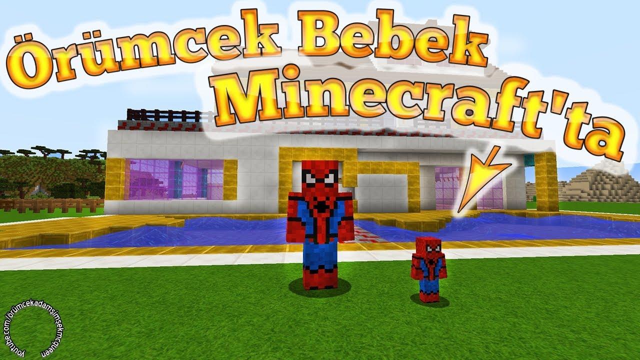 Download Örümcek Bebek Minecraft'ta Örümcek Çocuk ile Macerası Çizgi Film Gibi Yeni Bölüm