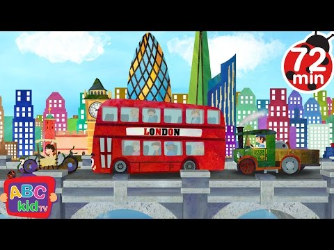 London Bridge is Falling Down | + More Nursery Rhymes & Kids Songs - ABCkidTV