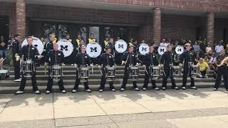 Michigan Drumline Step Show 9/15/18 vs SMU