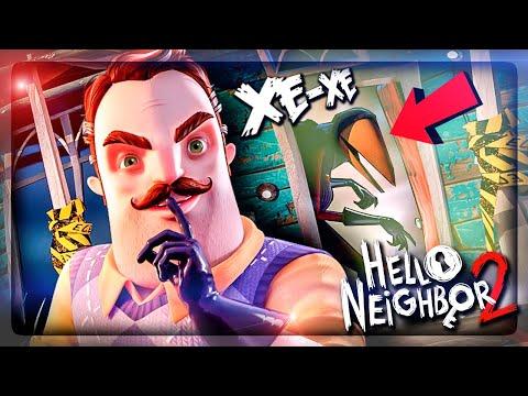 ПОКОРЯЕМ ТРУДНОДОСТУПНЫЕ МЕСТА В ПРИВЕТ СОСЕД 2 ▶️ Hello Neighbor 2 Alpha 1