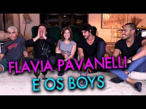 Eu Nunca com Flavia Pavanelli e boys | #HotelMazzafera