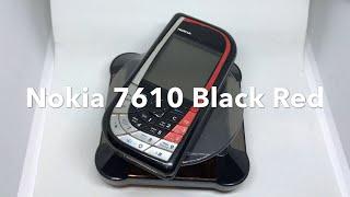 Nokia 7610 Black & Red, Rare Phone, Mobile Phone, Unlocked, 100% Original