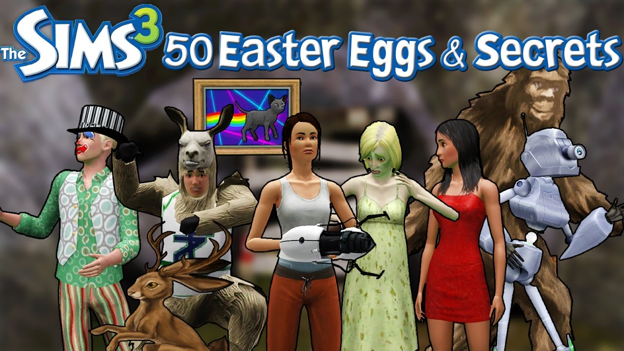 The Sims 3: 50 Easter Eggs and Secrets!