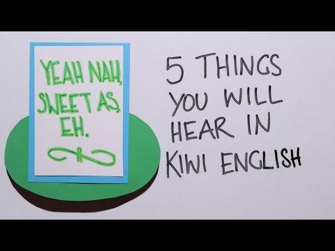 NEW ZEALAND ENGLISH - 5 THINGS YOU WILL DEFINITELY HEAR IN KIWI ENGLISH