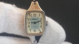 Женские часы Чайка 17 камней сделано в ссср