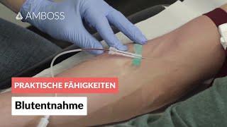 Blutentnahme - AMBOSS Video (Blut abnehmen / Venenpunktion / Blutabnahme)