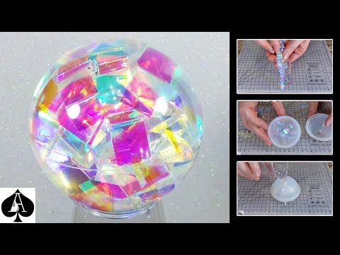 How to Make a Chroma Sphere from Epoxy Resin - QUICK, EASY, and definitely NOT Tedious at all..!