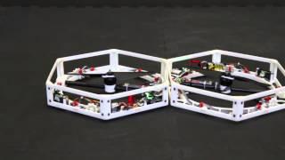 Autonomous Robots Self Assemble And Fly