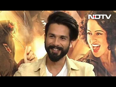 Shahid Kapoor Talks About The Challenges of Shooting Rangoon