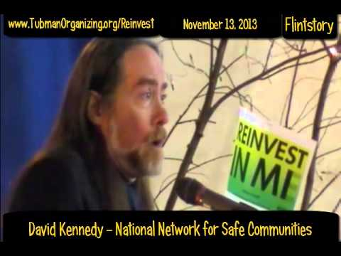 David Kennedy Addresses the REINVEST EXPRESS in Flint Michigan USA