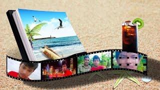 Photoshop cc 2015 öğretici 3D Film Şeridi Oluşturma