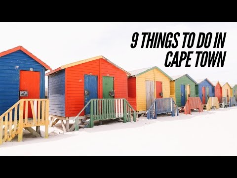 9 Things To See And Do In Cape Town, South Africa