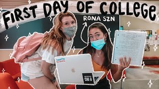 my FIRST DAY of college vlog 2020!