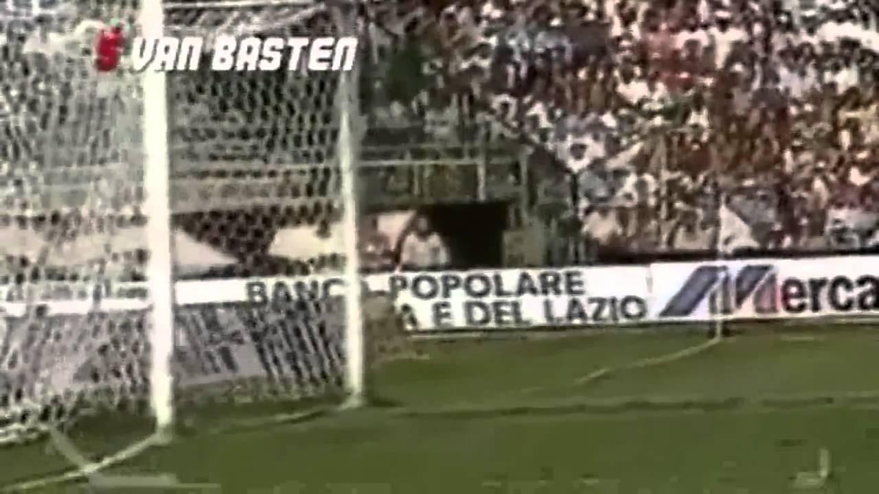 Marco van Basten\'s Top 10 Goals for Milan - YouTube