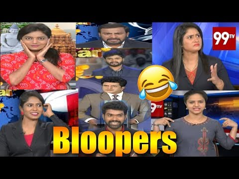 99TV Bloopers 2019 | 99TV Anchors And Reporters Funny Moments | 99 TV Telugu