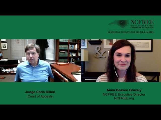 NCFREE Judicial Interview - Judge Chris Dillon - Court of Appeals, Seat 06