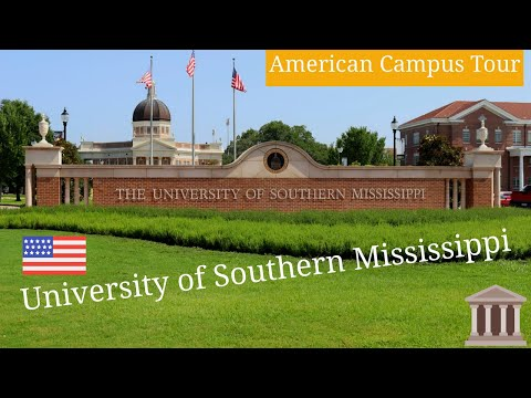University of Southern Mississippi Campus Tour