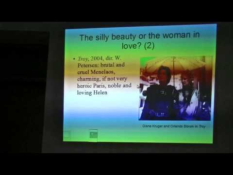Dr. A. Klęczar, Classical Tradition in Popular Culture: Helen of Troy, part 03