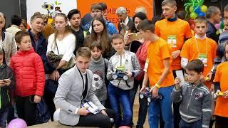 Greenrobofest 2017. Робо-рейсинг, робо-кегельринг, робо-сумо