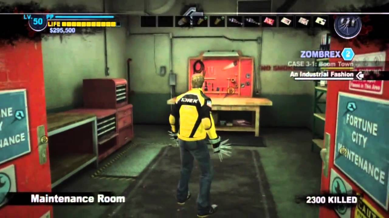 dead rising 2 combo cards all 50