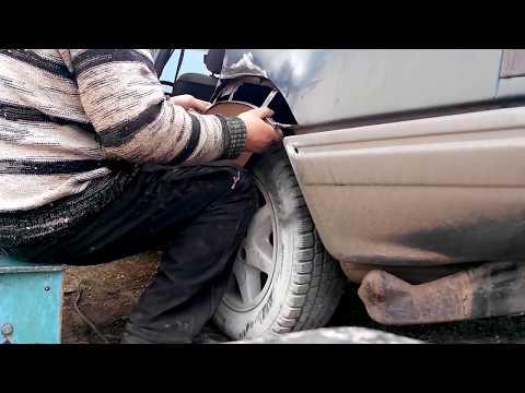 Востановление Ford Scorpio, переварка днища и порогов. Часть1 Car repair Ford, new life part 1