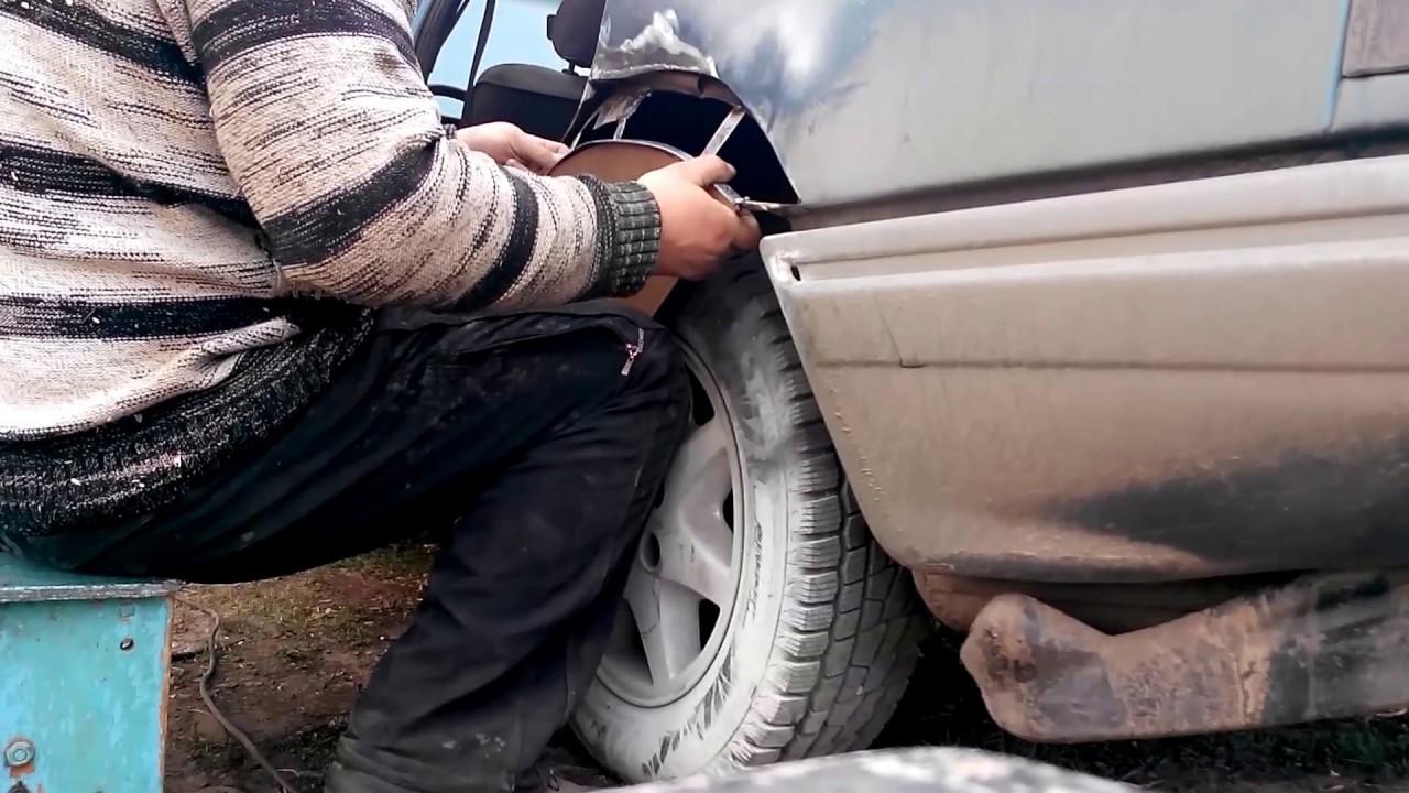Востановление Ford Scorpio, переварка днища и порогов. Часть1/Car repair Ford, new life part 1