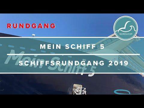 Schiffsrundgang - Mein Schiff 5 - Oktober 2019