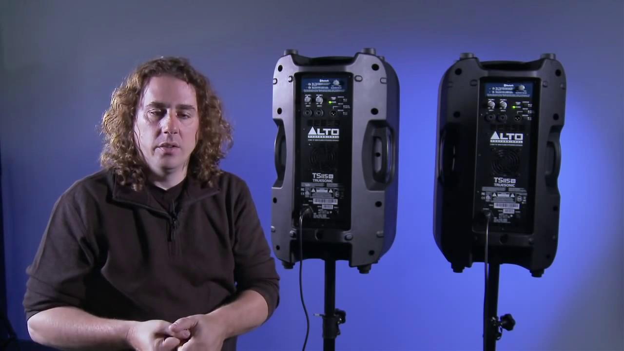 Alto Professional Truesonic Wireless Speakers Pairing