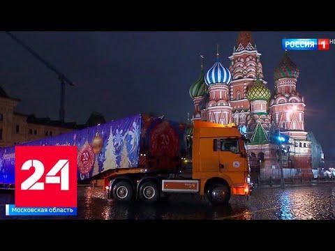 Вопрос: Как проходит выбор Кремлевской ёлки, когда и как привозят в Кремль?
