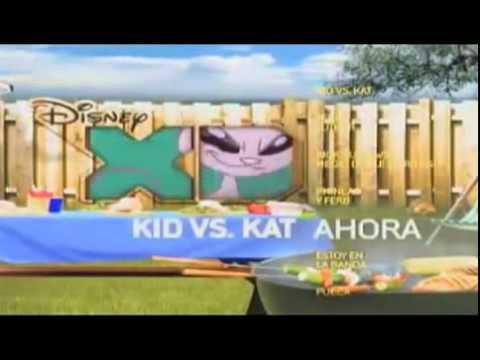 Ahora 'Kid vs Kat' en Disney XD