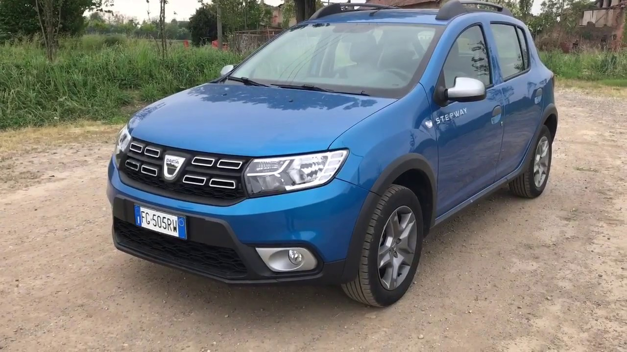 dacia sandero stepway 2017 tce 90 cv gpl primo contatto youtube. Black Bedroom Furniture Sets. Home Design Ideas