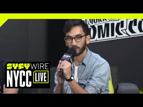 Prospect Cast Talk New Film, Space Bandits And Worldbuilding | NYCC 2018 | SYFY WIRE
