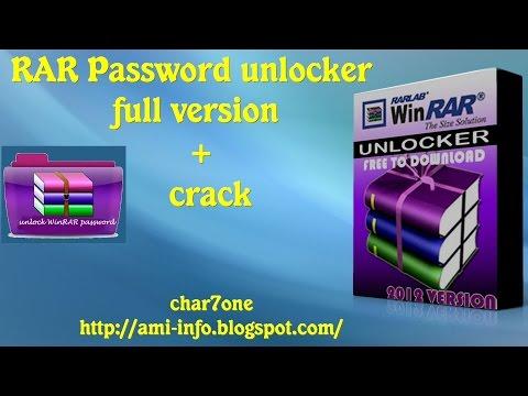 RAR Password unlocker full version - YouTube