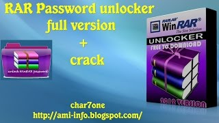 RAR Password unlocker full version