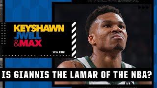 Is Giannis The Lamar Jackson Of The NBA?! 🧐   KJM