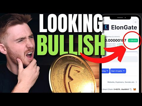 ELONGATE Breakout and Massive Charity News! Elon Gate Coin Charts and AMA Updates (BNB Pumping)