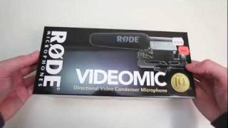 Rode Video Mic Unboxing
