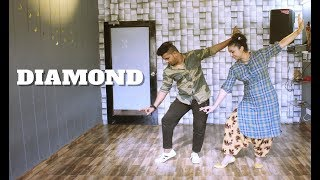 DIAMOND | GURNAM BHULLAR | EASY BHANGRA STEPS | CHOREOGRAPHY |THE DANCE MAFIA