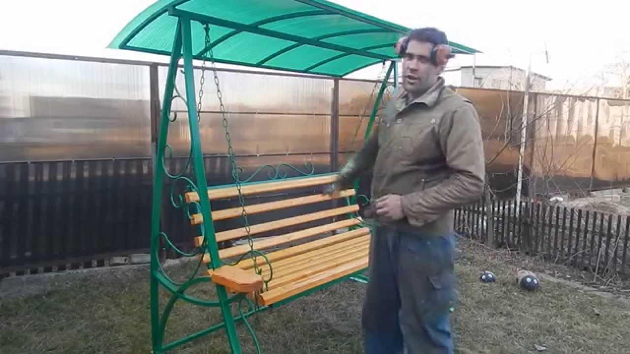 Купить садовые качели с доставкой по Украине! Садовые качели .