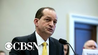 Labor Secretary Alex Acosta faces mounting pressure to resign over Epstein case