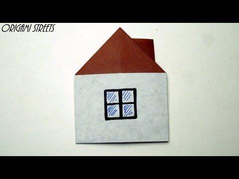 Origami Rumah Dari Kertas