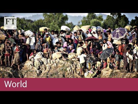 Aung San Suu Kyi rebuked over Rohingya crisis
