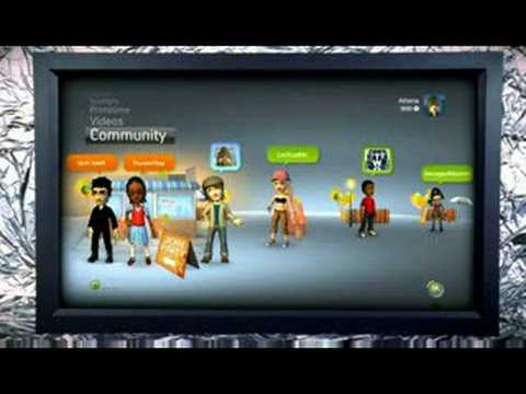 New Xbox Experience - Xbox 360 Fall 2008 Dashboard